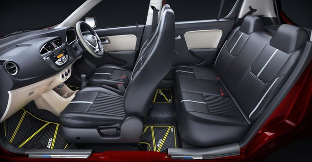 Maruti alto k10 urbano edition launched prices features for Swift lxi o interior