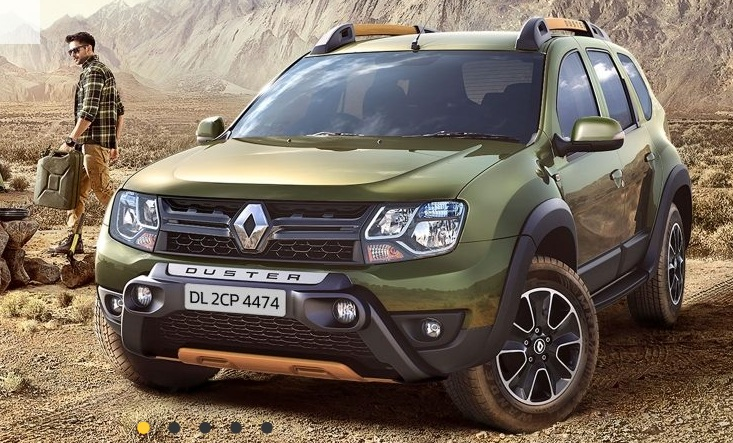renault duster adventure edition launched prices changes look. Black Bedroom Furniture Sets. Home Design Ideas