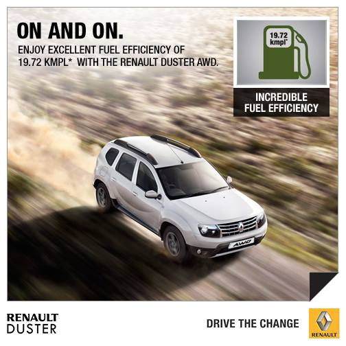 Renault Duster 4x4 All Wheel Drive Price, Features, Review
