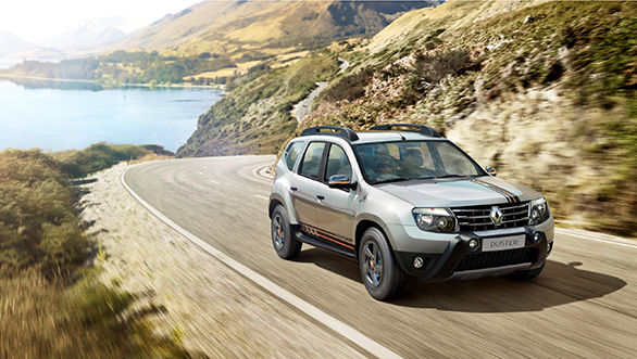 renault duster explore limited edition prices features. Black Bedroom Furniture Sets. Home Design Ideas