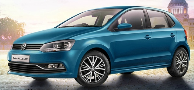 volkswagen polo all star edition launch in india pictures specs. Black Bedroom Furniture Sets. Home Design Ideas