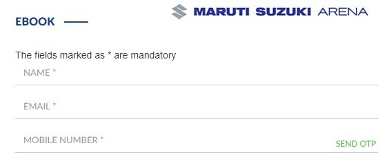 Maruti Suzuki Starts Online E Bookings of its Cars. Process Review