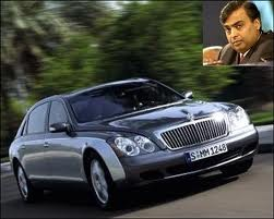 photo of Mukesh Ambani  - car