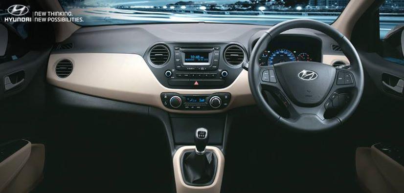 Hyundai Xcent Interiors Interior Pictures Boot Space Of Hyundai Xcent Sedan