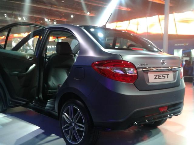 Tata Zest Sedan 2014 Interiors, Exterior Pictures, Photo Gallery