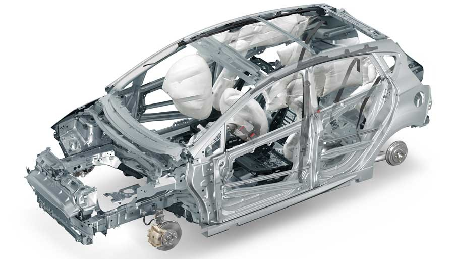 Cars with Strongest Body Structures, Frames as Safe Cars of India