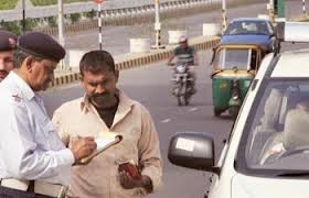 Traffic Fines in Delhi. Penalty Slabs on Violation of Traffic Rules