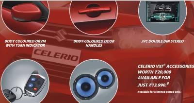 Maruti Celerio Vxi Plus Limited Edition Price Features Specs