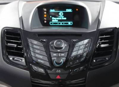 Ford Fiesta Facelift Music System