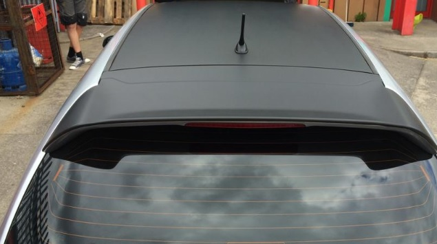 3M Contrast Black Roof Wrap Prices, Look in Gloss, Matte