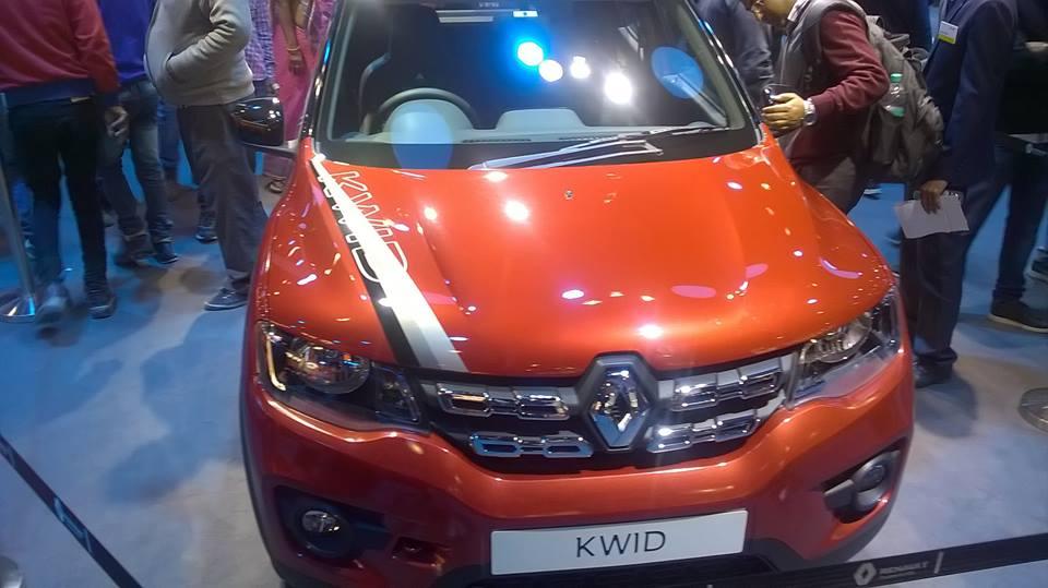 Renault kwid personalization