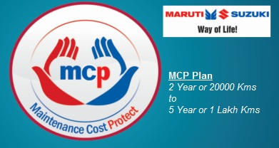 Maruti MCP Maintenance Cost Protect Plan, Prices, Service Cover