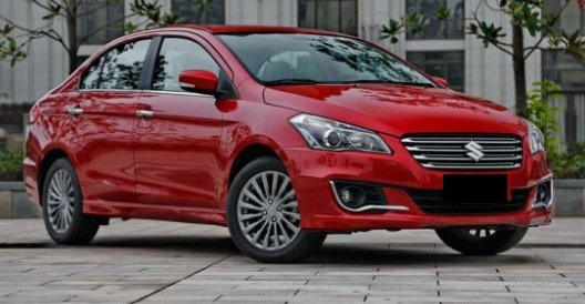 Maruti Ciaz Facelift Model