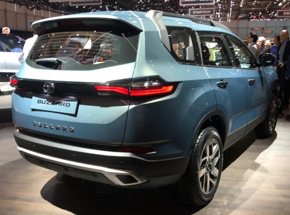 Tata Harrier 7 Seater Rear Looks