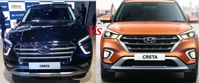 Hyundai Creta 2020 Vs Old Creta Differences, Changes Explained