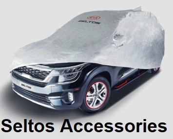Kia Seltos Accessories with Prices. Modify Seltos to Luxury SUV