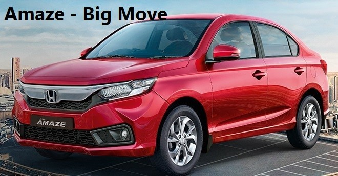 Honda Amaze Review. Prices, Features in E, S, V and Vx Model