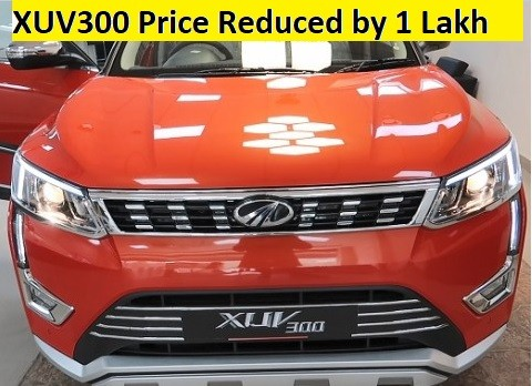 Mahindra XUV300 gets Price cut by 1 Lakh. Kia Sonet and Venue Impact