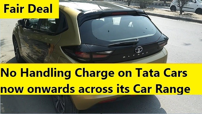 No More Handling Charge on Tata Cars. MyCarHelpline Campaign Wins