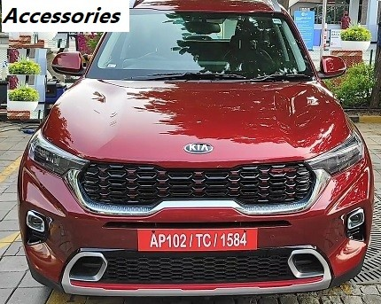 Kia Sonet Accessories Price List. Modify Kia Sonet in Luxury Styling