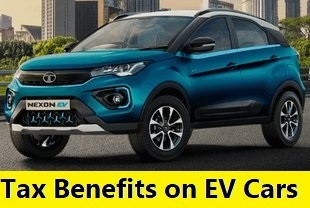 Tax Rebates on buying Electric Cars in India. Road Tax, GST, Income Tax