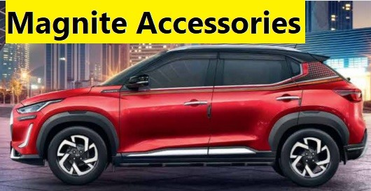 Nissan Magnite Accessories Price List. Modify Magnite XE, XL, XV, XV Premium