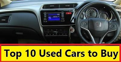 Top 10 Used Cars to buy in India. Reliable, Safe and Best Value Buy