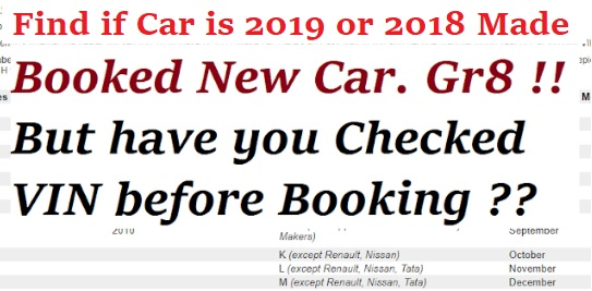 Decode Manufacturing Date of Car  How to Find 2019 VIN Car