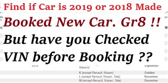 Decode Manufacturing Date of Car. How to Find 2019 VIN Car Easily