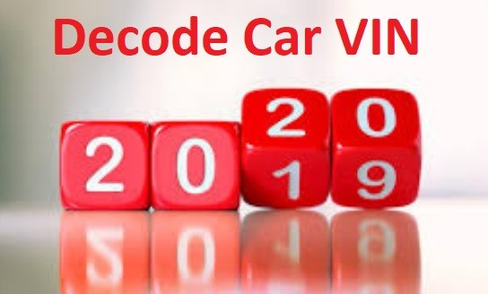 Decode Manufacturing Date of Car. How to Find 2020 VIN Car Easily