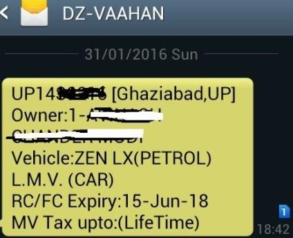 Trace Car Registration Owner and Address Details Online