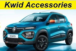 Renault Kwid Accessories Prices. Modify Kwid to Luxury SUV like Looks