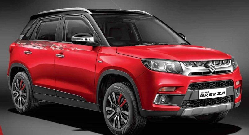 Maruti Vitara Brezza Accessories Pack, Prices with Brezza I Create Personalisation Pack