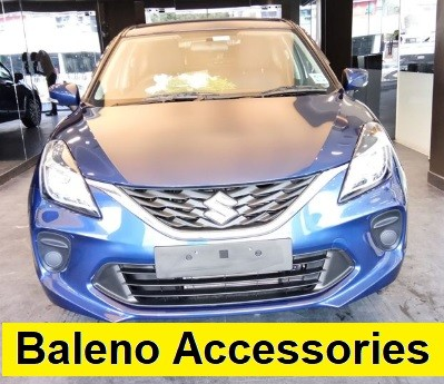 Maruti Baleno Accessories Range with MGA Official Price List
