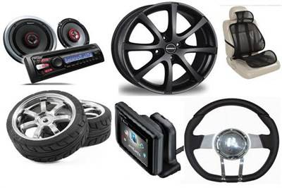 Image result for car with car accessories