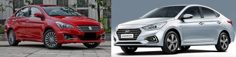 Maruti Ciaz Vs Hyundai Verna 2017. Review Best in Ciaz and Next Gen Verna