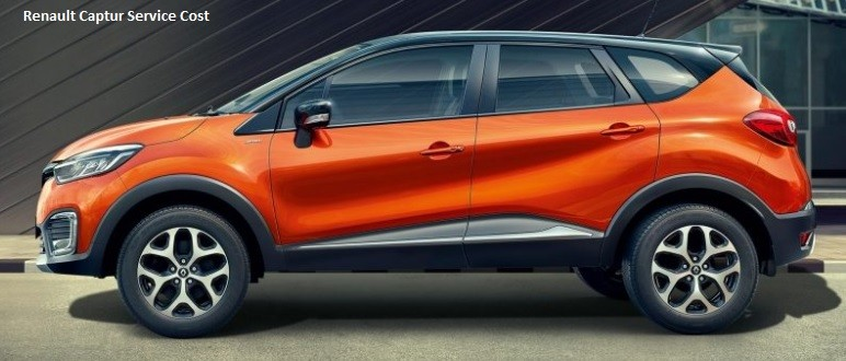Renault Captur Service Schedule and Maintenance Costs in India