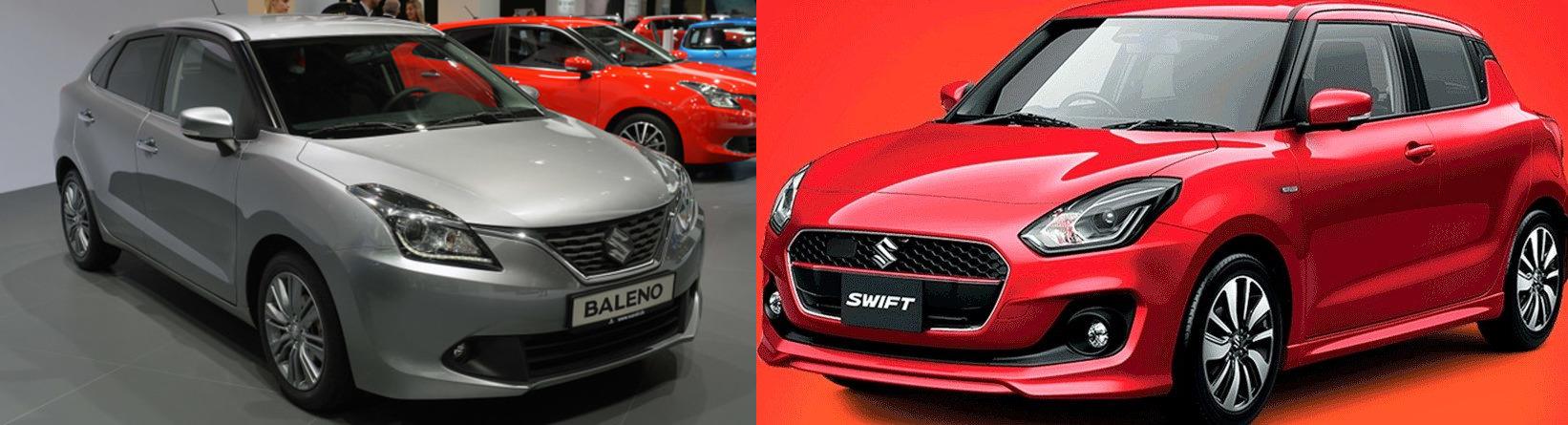 Maruti Swift 2018 Facelift or Baleno  Review Best Hatchback