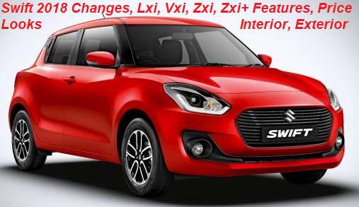 Maruti Swift 2018 Lxi,Ldi Vs Vxi,Vdi Vs Zxi,Zdi and Zxi Plus, Zdi Plus Facelift Variant Explained