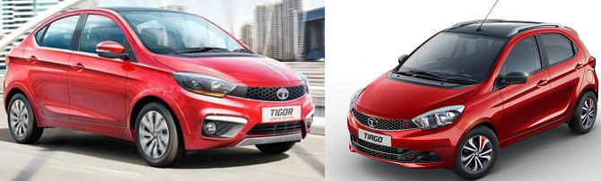 Tata Tiago Sport, Tigor Sport Launch in Auto Expo with 110 PS Power, 170 NM Torque