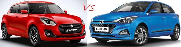 Maruti Swift 2018 Vs Hyundai Elite I20 Facelift. Review Best Buy in Swift, I20 Facelift 2018 Model