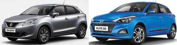 Maruti Baleno Vs Hyundai Elite I20 2018 Facelift Model Review Best