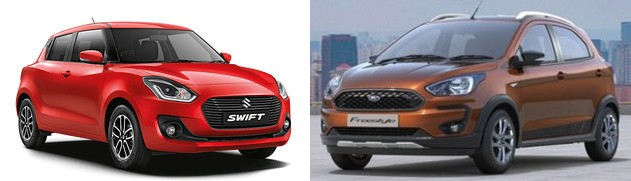 Ford Freestyle Vs Maruti Swift 2018. Review the Best Value Buy in Petrol and Diesel Engine