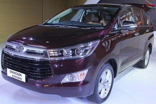 Toyota Innova Crysta Accessories Range with Price List in India