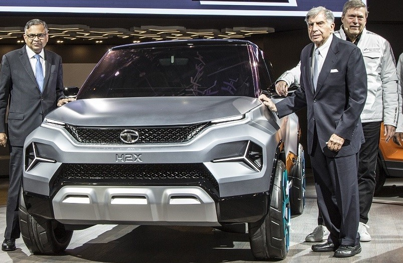 Tata H2x Sub Compact Concept SUV set for Launch in 2020 as Hornbill