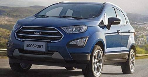 Ford Ecosport Thunder Variant to be introduced. Also Titanium and Titanium Plus Features reshuffling to be done