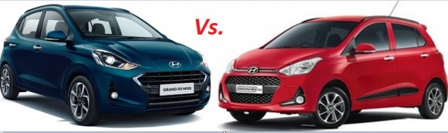 Hyundai Grand i10 Nios Vs Pre Gen Grand i10  Differences