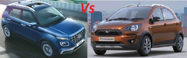 Ford Freestyle Vs Hyundai Venue. Compare Best Value Buy as Freestyle is now a SUV
