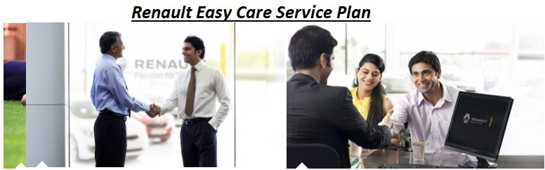Renault Easy Care Prepaid Service Plan for Duster, Kwid, Triber, Captur