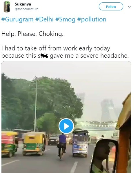 Heavy Smog in Delhi, NCR. Doctor Tips for Safety Protection in Pollution